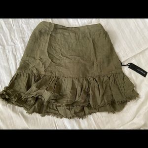 Cotton On Green truffle skirt